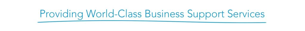 Providing World-Class-Business Support Services